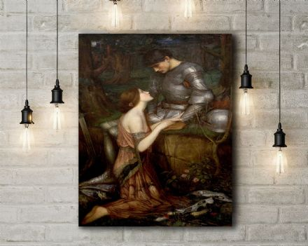 John William Waterhouse: Lamia. Fine Art Canvas.